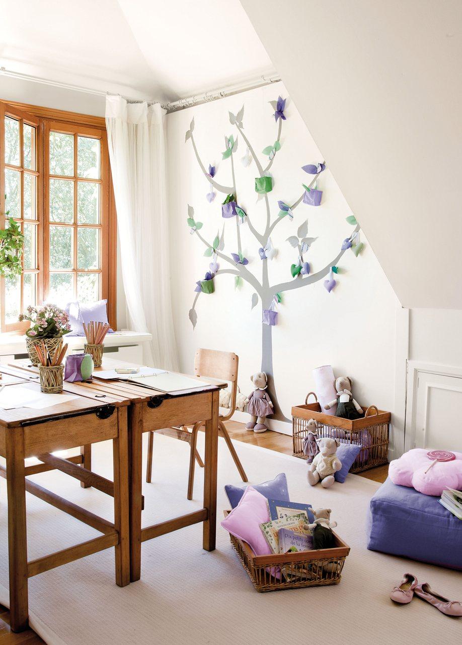 Claves de decoraci n de una habitaci n infantil - Arreglar silla oficina se queda baja ...