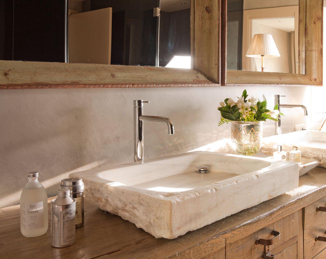 Consejos eco para gastar menos for Lavamanos de marmol