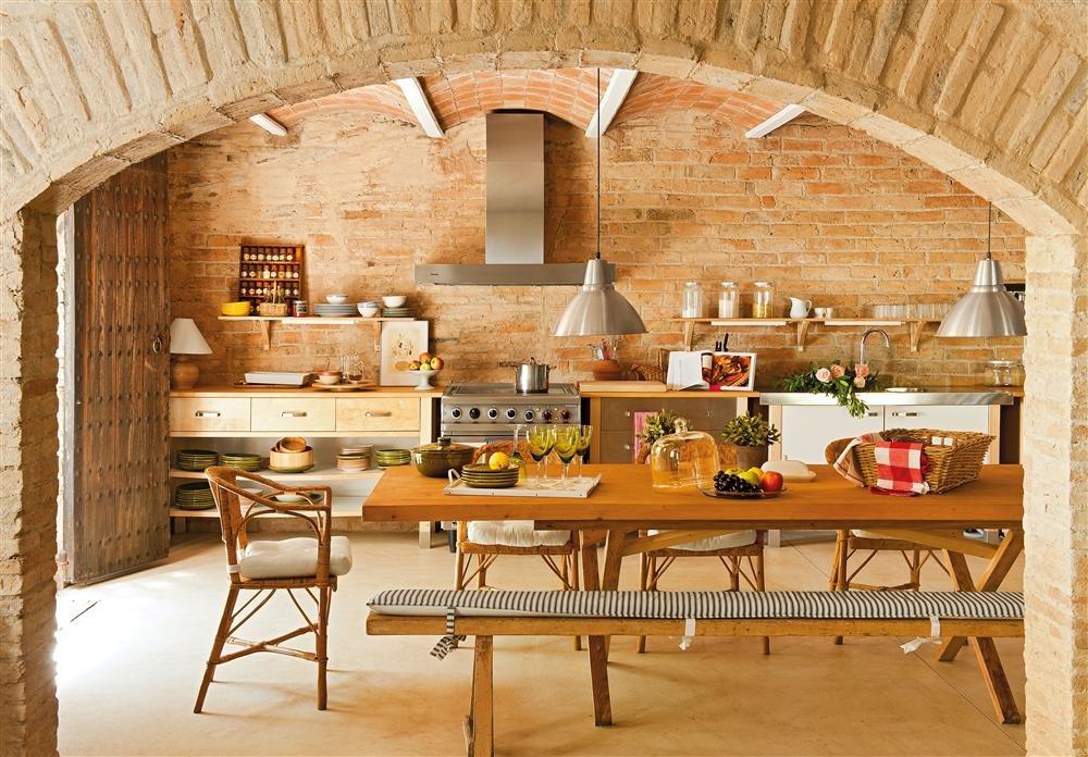 Decodeliziosa ladrillo en la cocina - Cocina de ladrillo ...