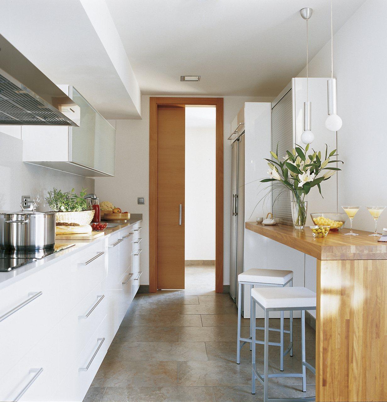 Cocinas pequeñas... ¡con ideas!