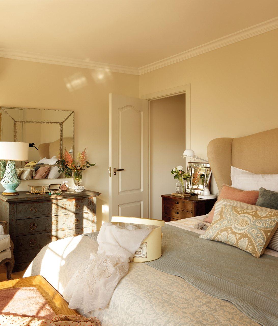 Primer piso de la interiorista beatriz silveira - Dormitorio principal ...