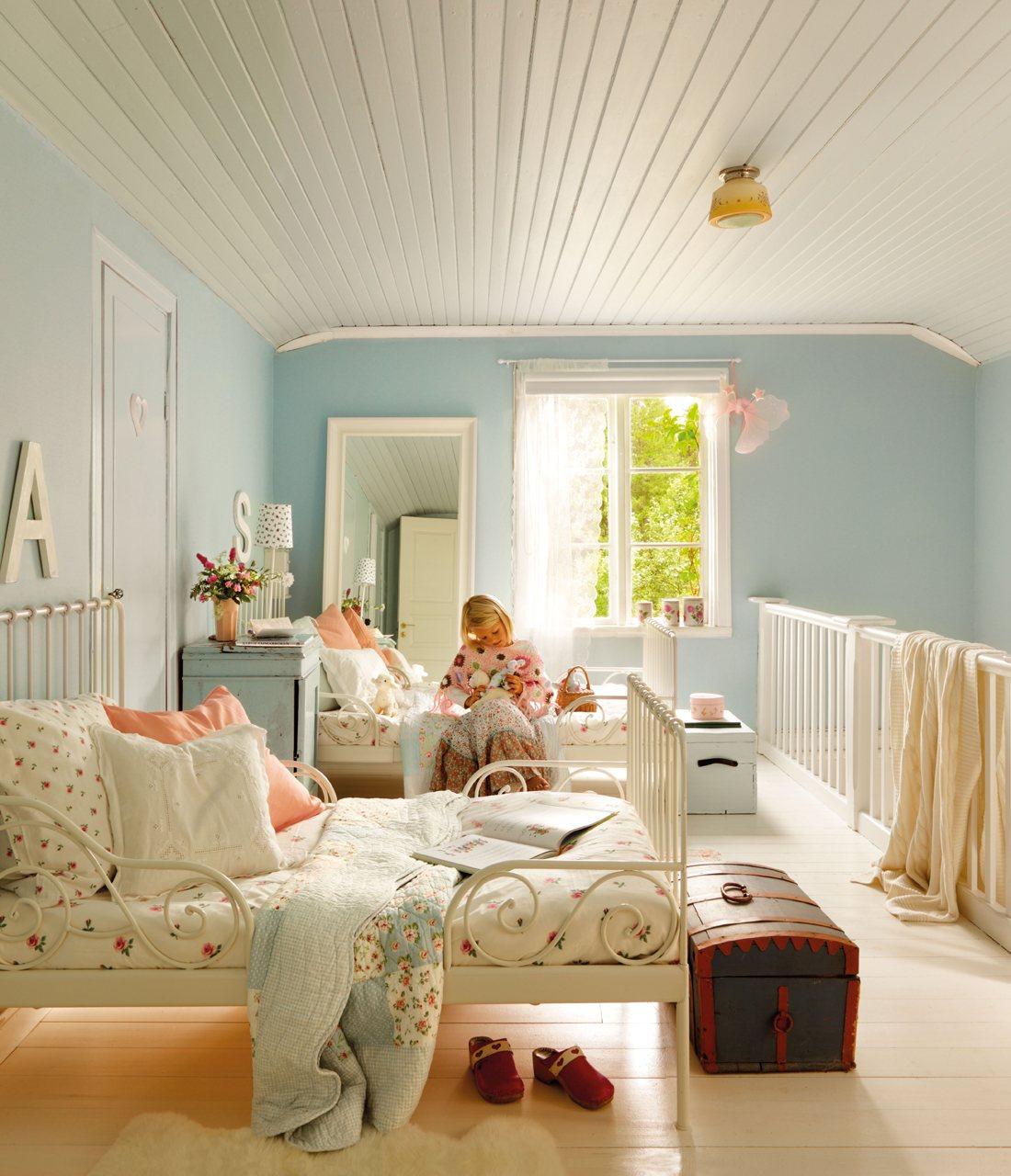 Shabby Chic Bedrooms Ideas La Casa De Verano En Suecia De Lorenzo Meazza De Ikea
