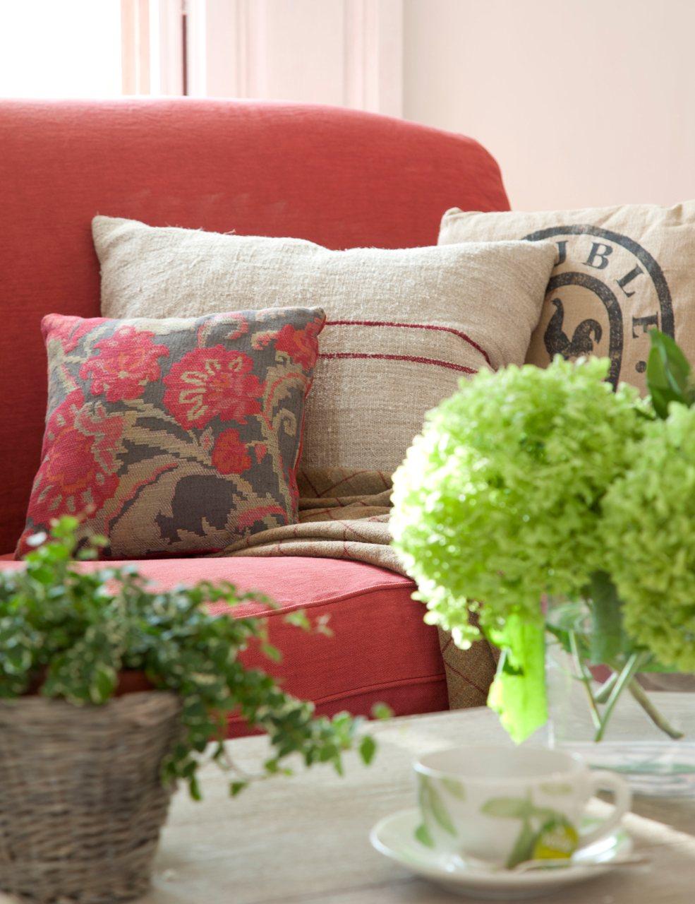 Cojines para sofa beige free cojn para sof cuadrado for Cojines para sofas