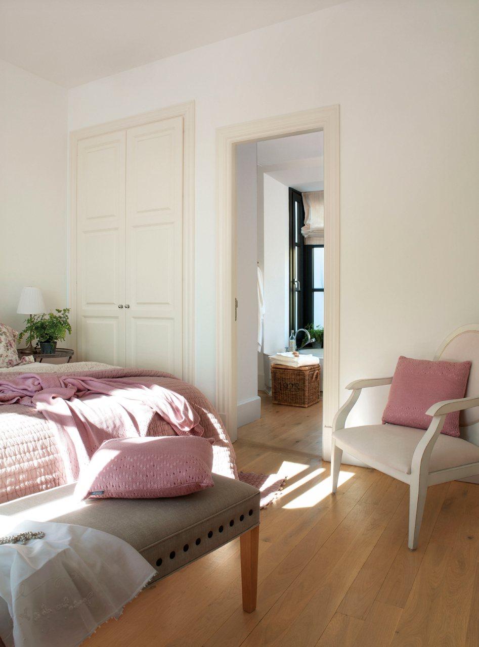 Decoracin de cuartos dormitorios paredes cortinas review - Cortinas vintage dormitorio ...