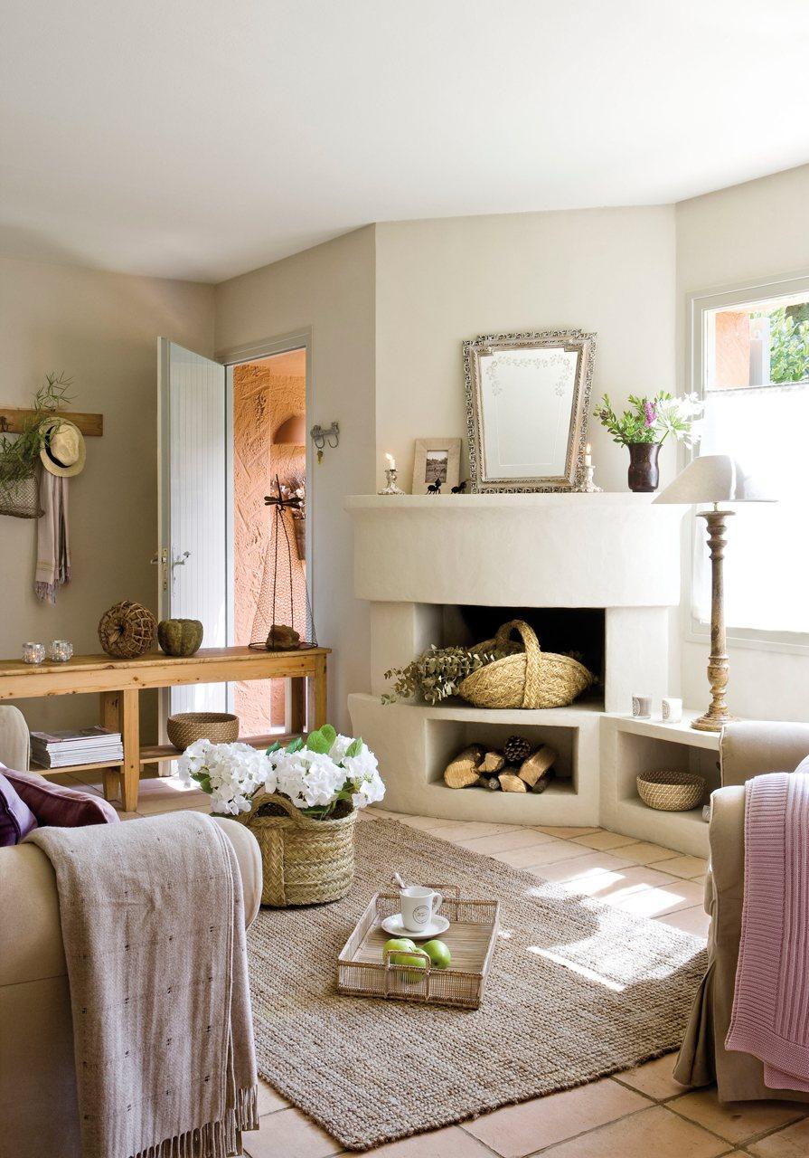 El decorador responde - Alfombras de madera para salon ...