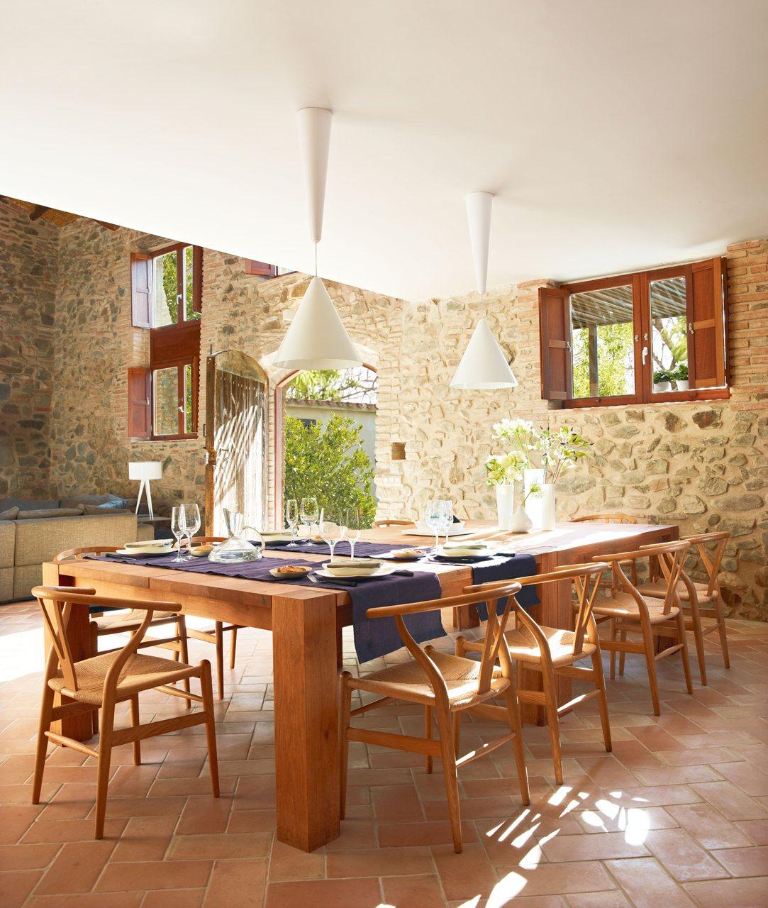 Mesas de cocina grandes mesa para televisor escritorios - Mesas grandes de comedor ...