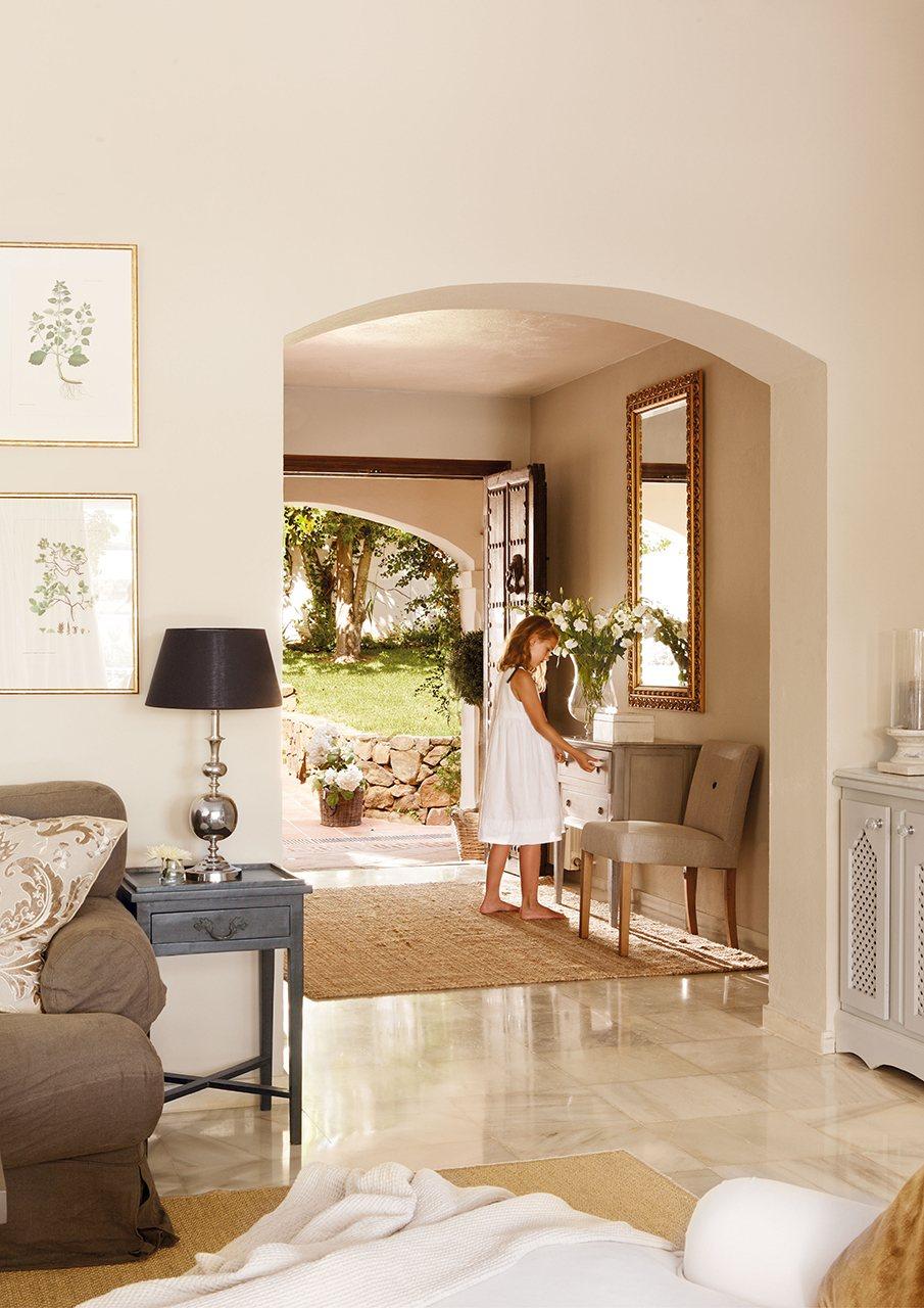 Decorar salon rectangular como decorar un salon moderno - Ideas para decorar un piso de estudiantes ...