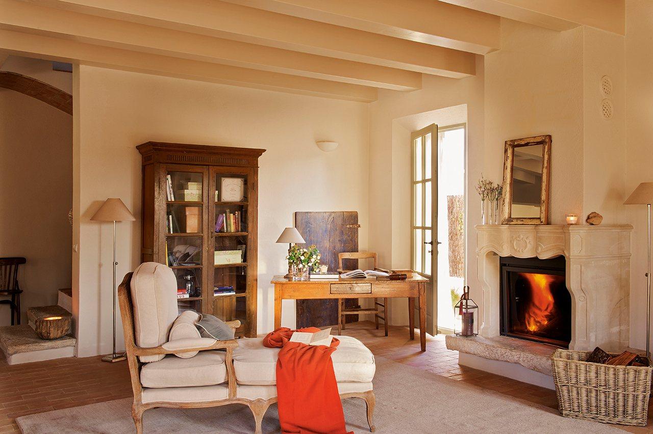 Y as fue como el provenzal se instal en el empord - El mueble chimeneas ...