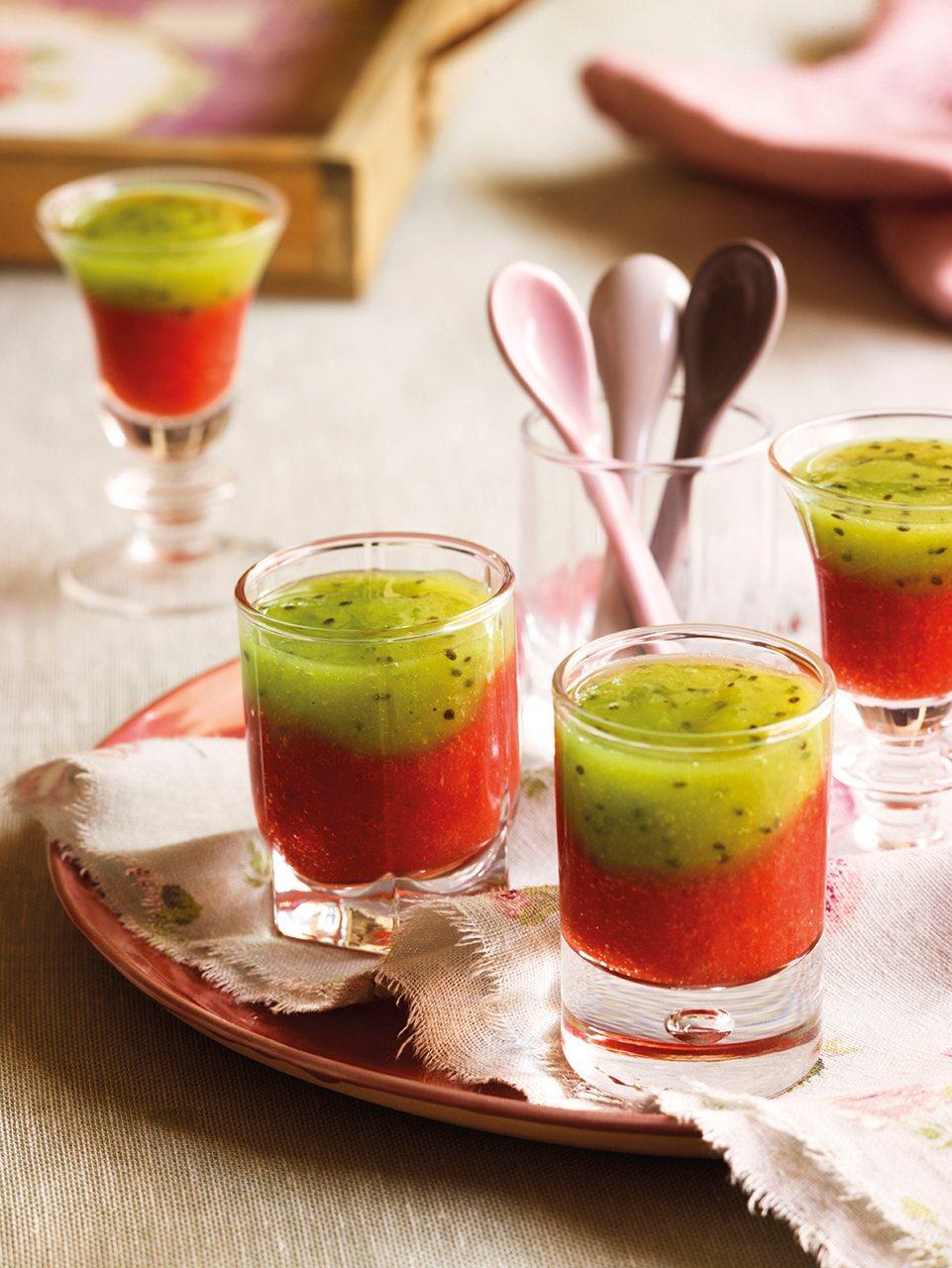 Recetas con muy pocos ingredientes - Batidos de kiwi ...