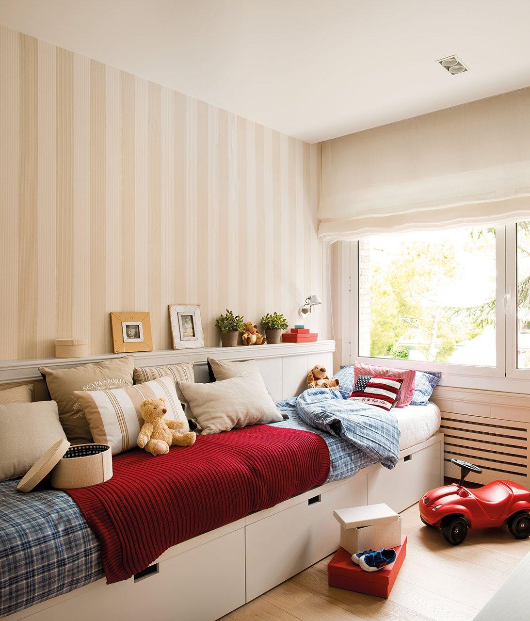 Una casa tranquila en medio de la ciudad - Dormitorio infantil cama nido ...