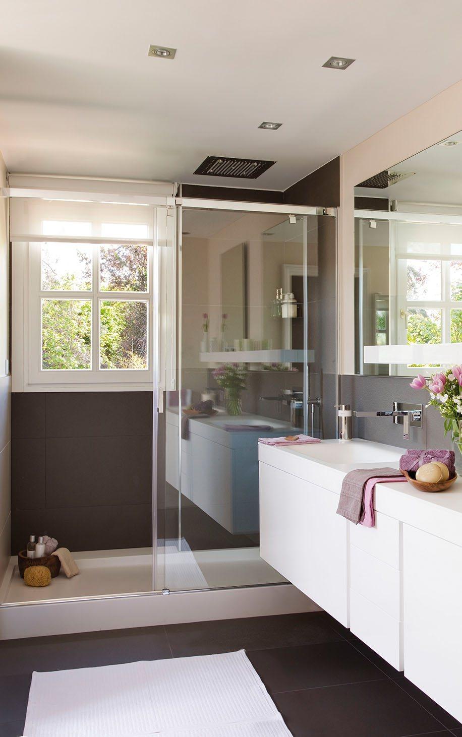 ideas para ba os peque os. Black Bedroom Furniture Sets. Home Design Ideas