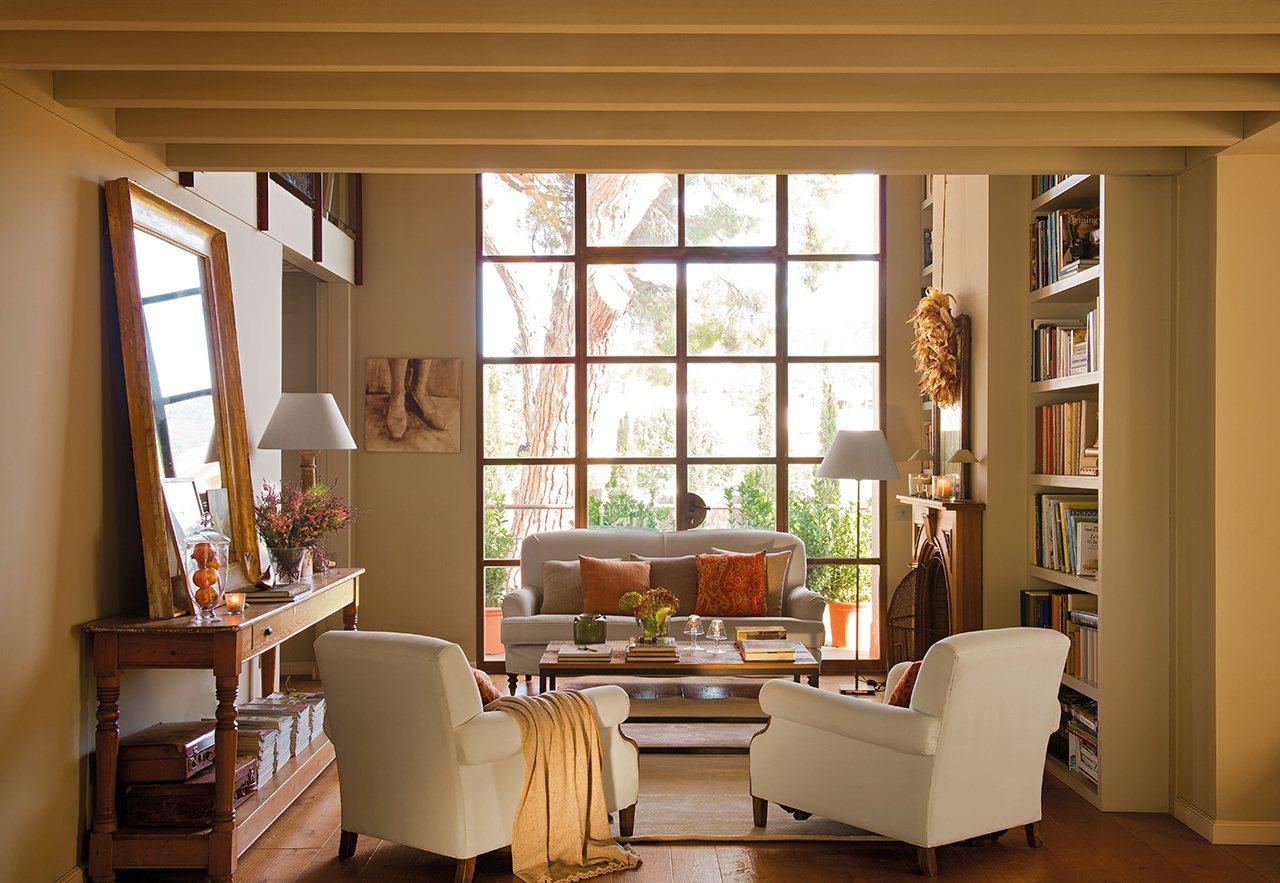 Ideas para vivir en un piso mini y no morir en el intento for Espejo salon grande