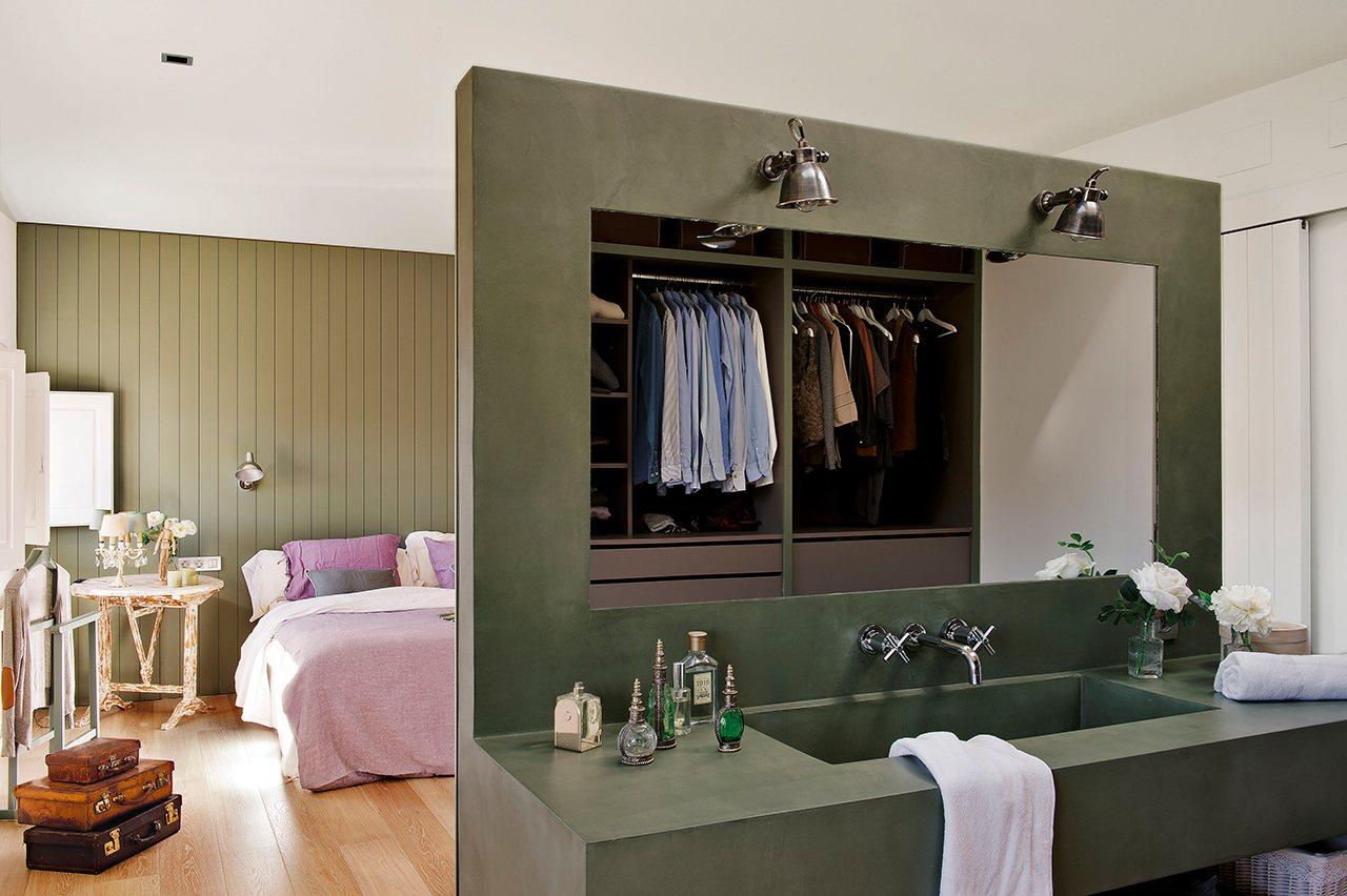 Baño En Dormitorio Pequeno:Zonificación ¡Prohibido chocar y tropezar! » Cuqui Gonzlez