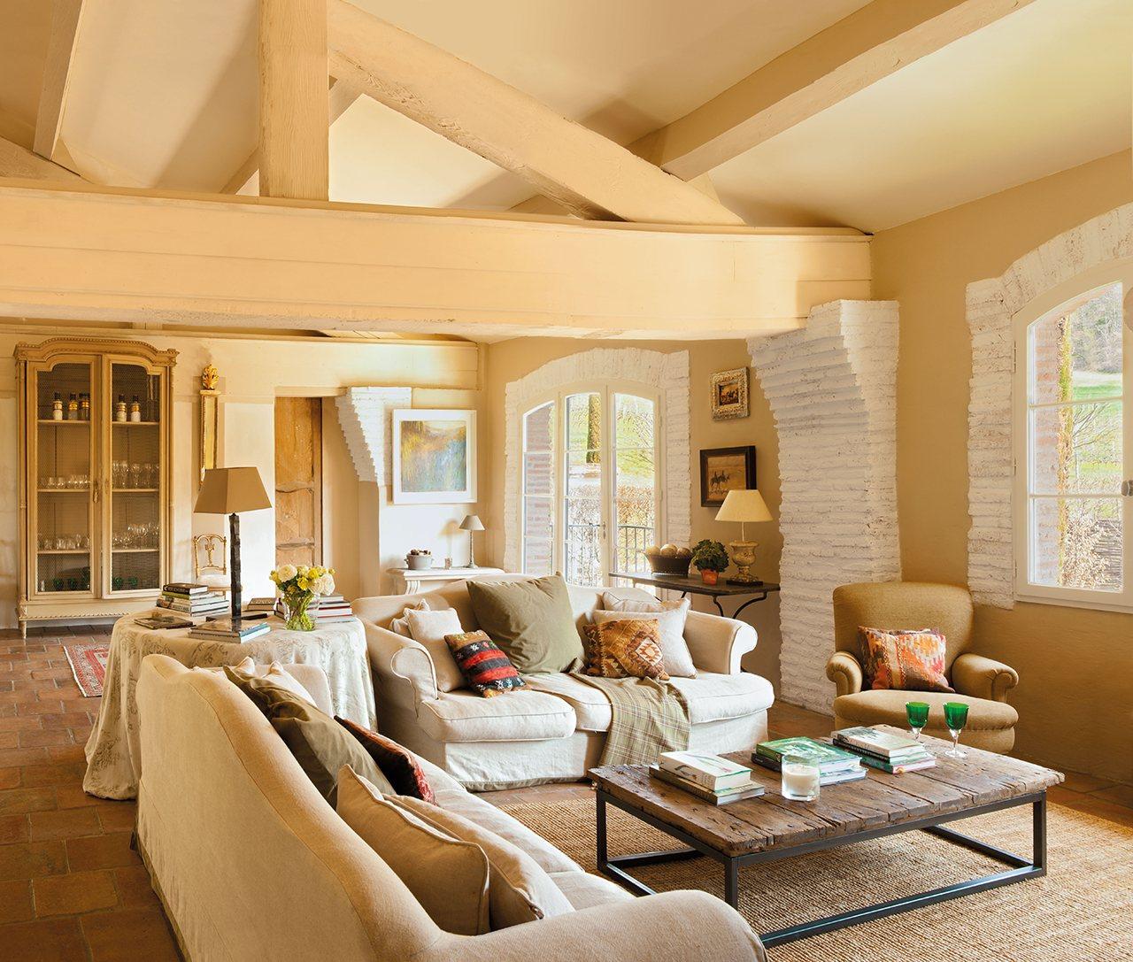 20 salones para inspirarte for Decoracion del hogar y mueble moderno