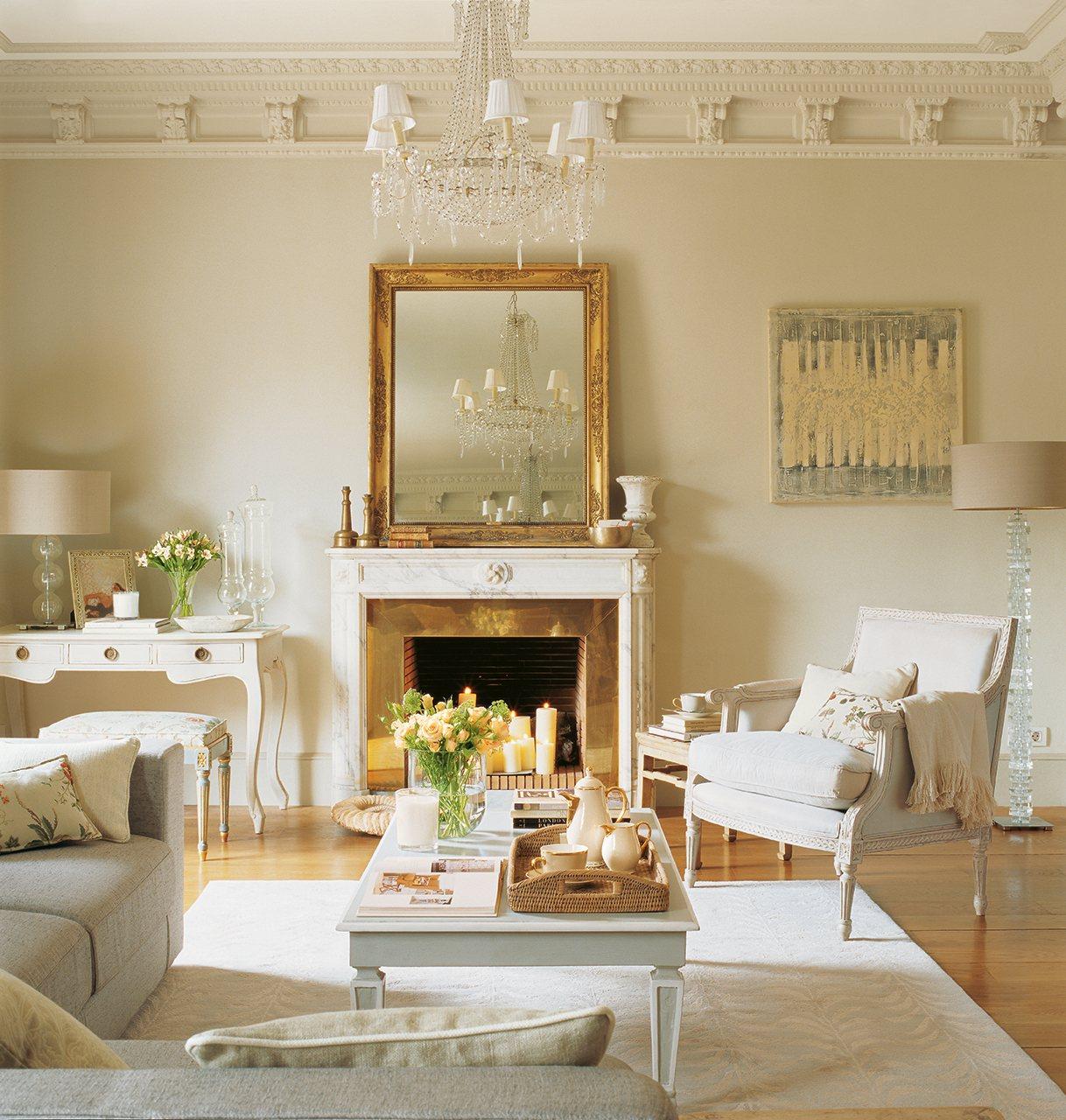20 salones para inspirarte - Como decapar un mueble en blanco ...