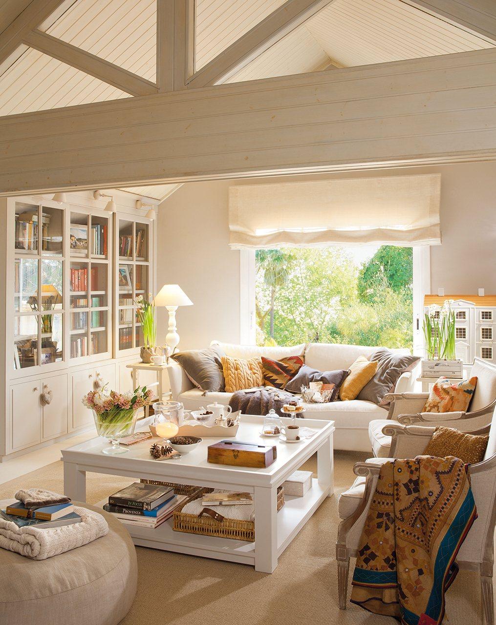 20 salones para inspirarte for Arreglo de muebles de sala