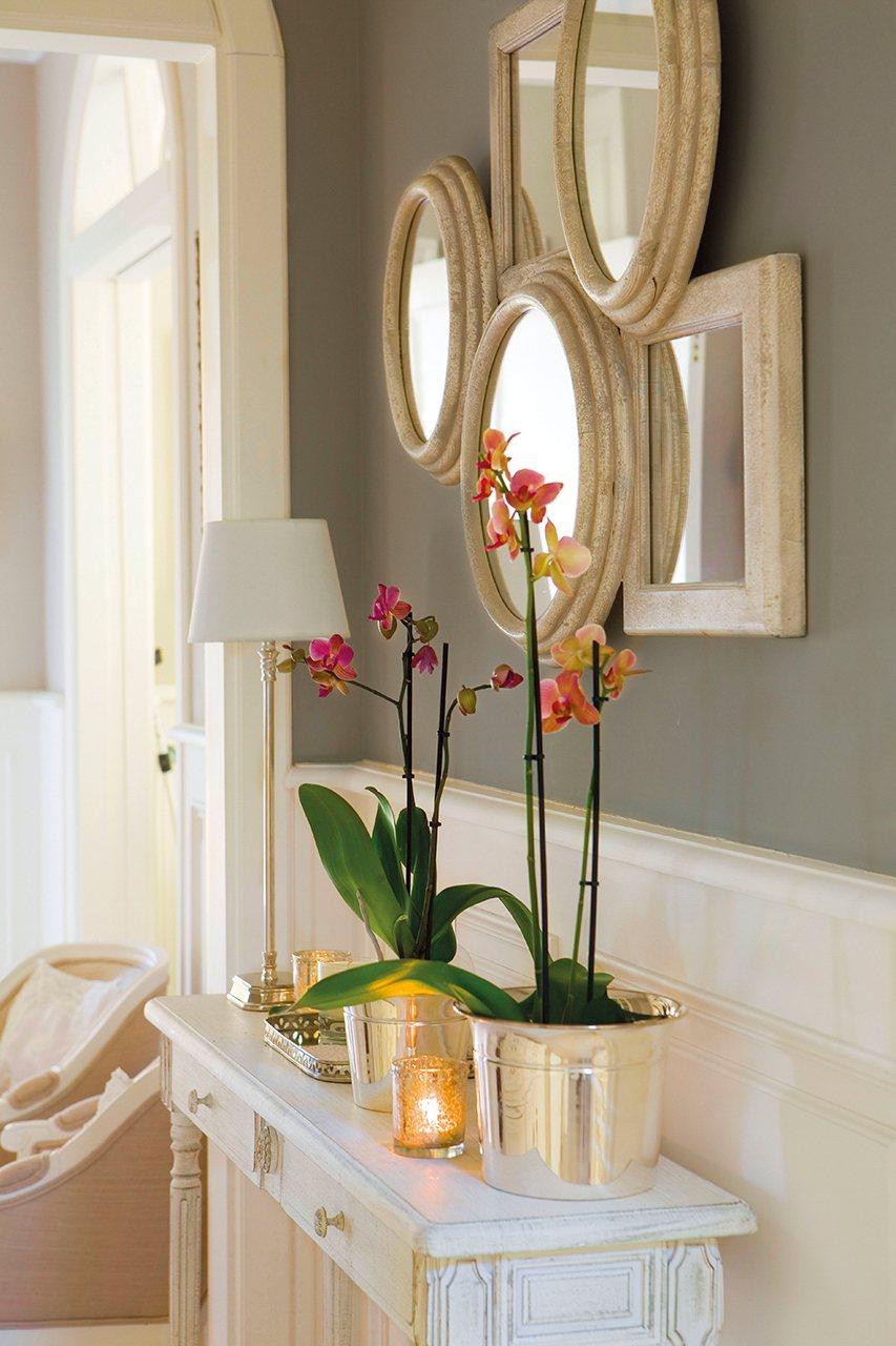 Ideas para la decoraci n de una entrada de casa - Armario en el recibidor ...
