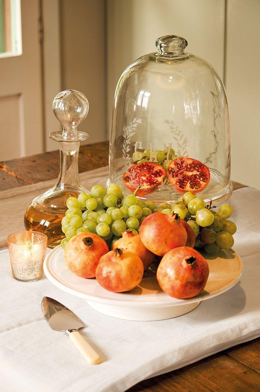 La casa de una artista for Frutas de cristal