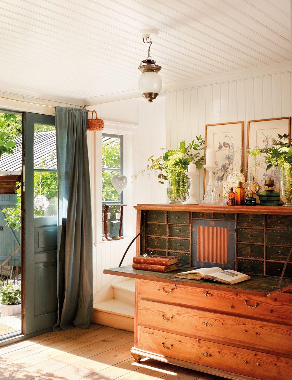 Ideas para la decoraci n de una entrada de casa - Decoracion de recibidores y entradas ...