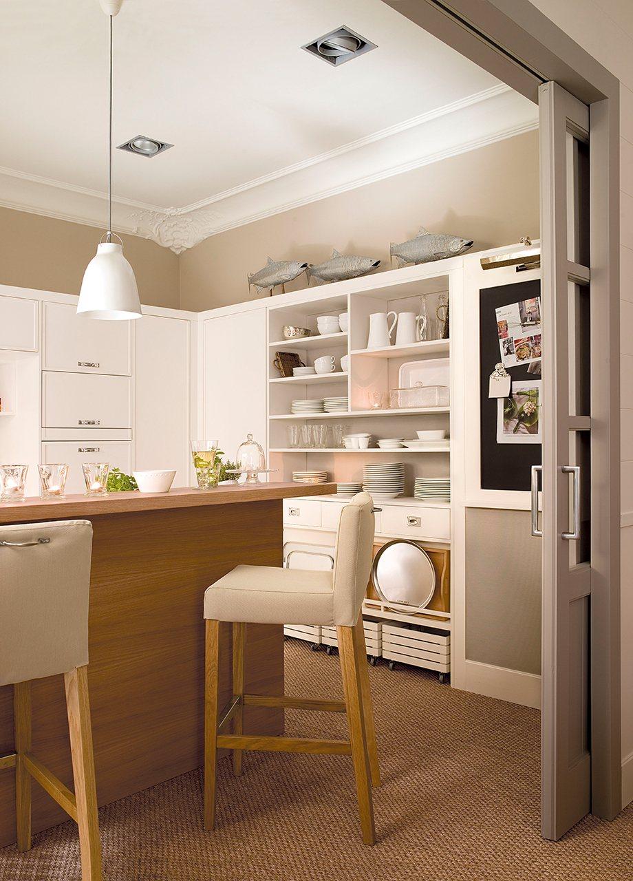 Cocinas Y Baos Revista Awesome Una Cocina Completa En Solo M  # Nuovo Muebles Cocina