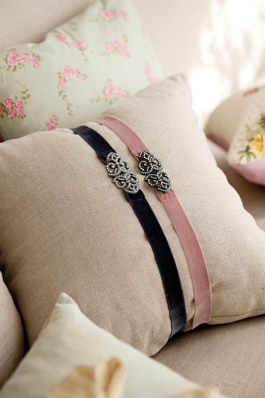 Detalles originales y manualidades para dar un giro a la - Cintas para decorar ...
