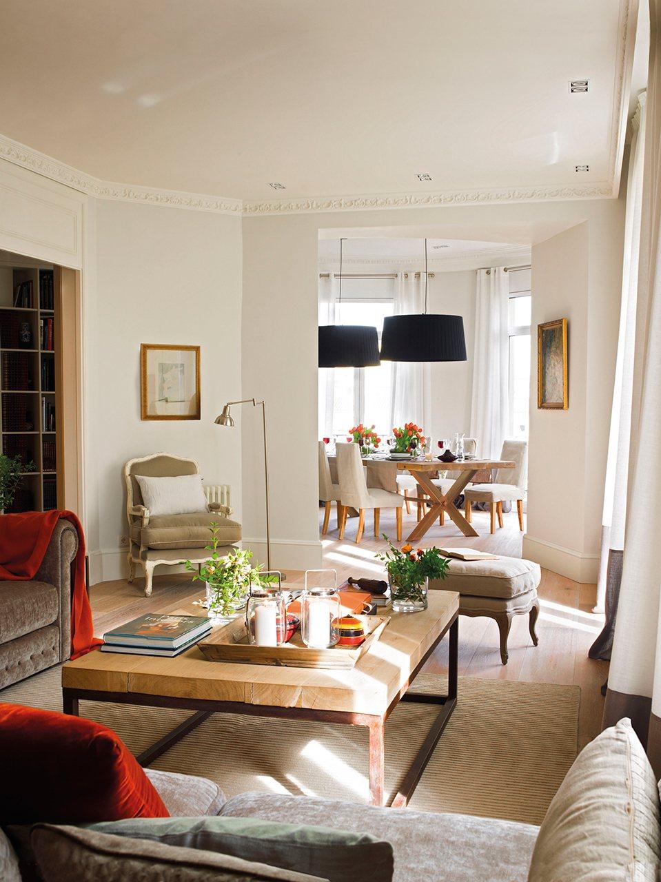 Un Piso Al M S Puro Estilo El Mueble  # Muebles De Casa Barcelona