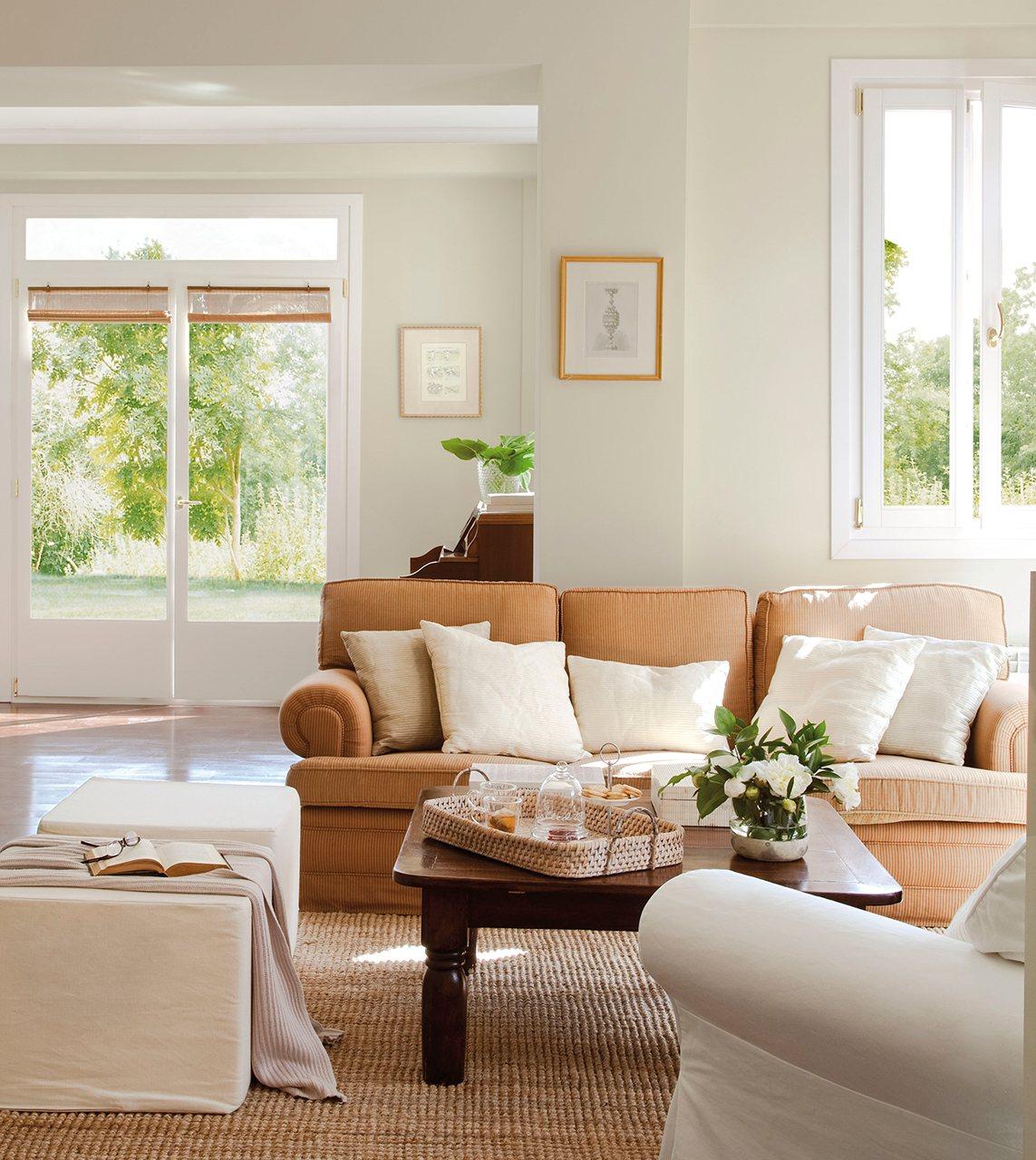 C mo elegir telas para las cortinas del sal n for Modelos de sofas clasicos