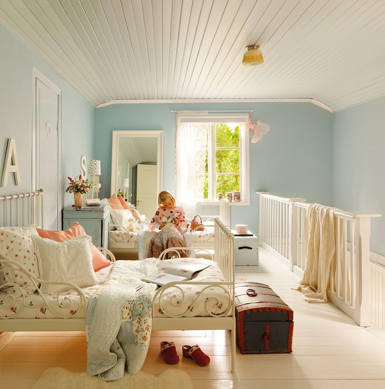 Dormitorios juveniles con encanto dormitorio country with - Dormitorio con encanto ...
