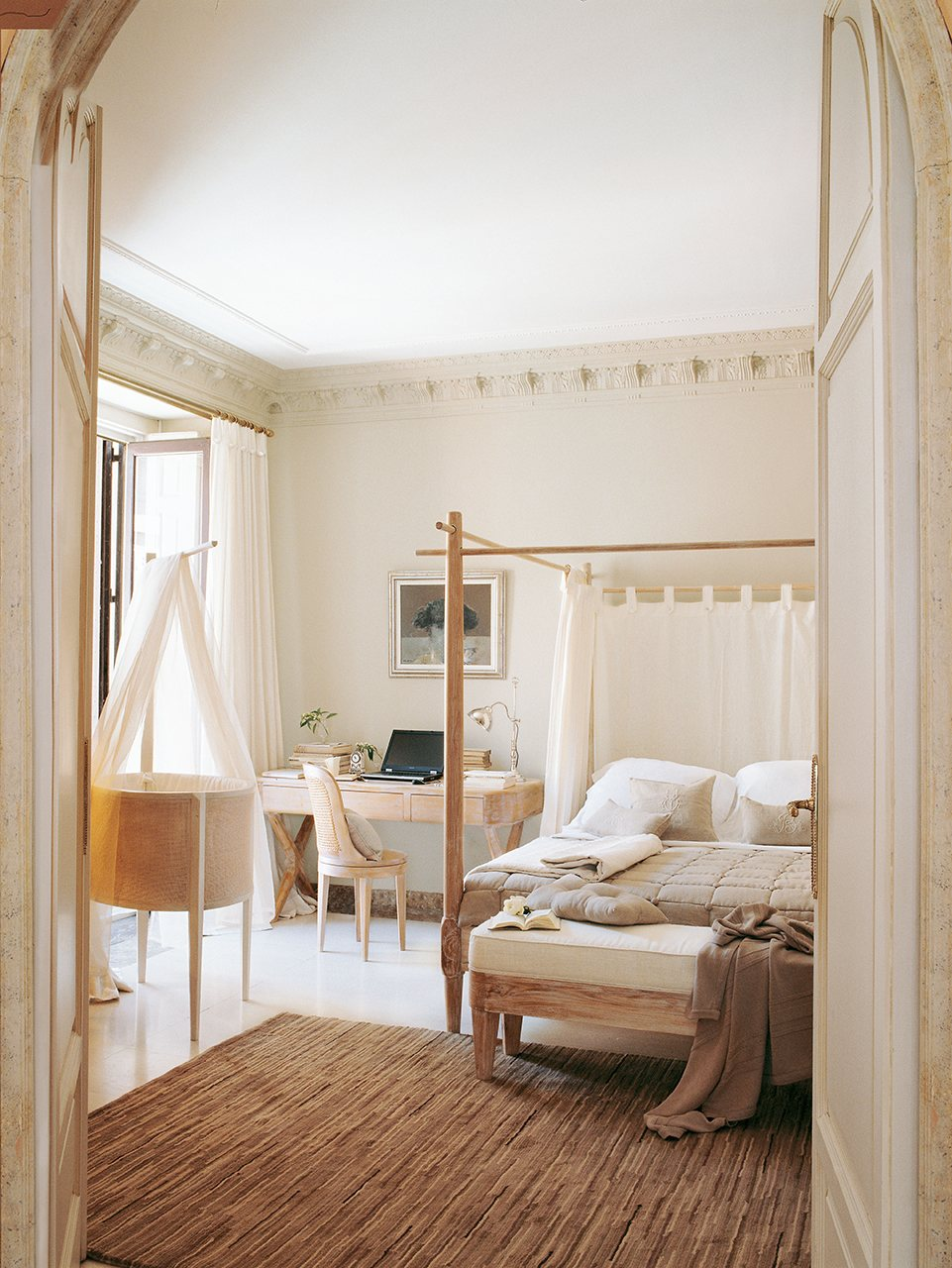 Los 10 dormitorios m s bonitos del a o - Cama con dosel ...
