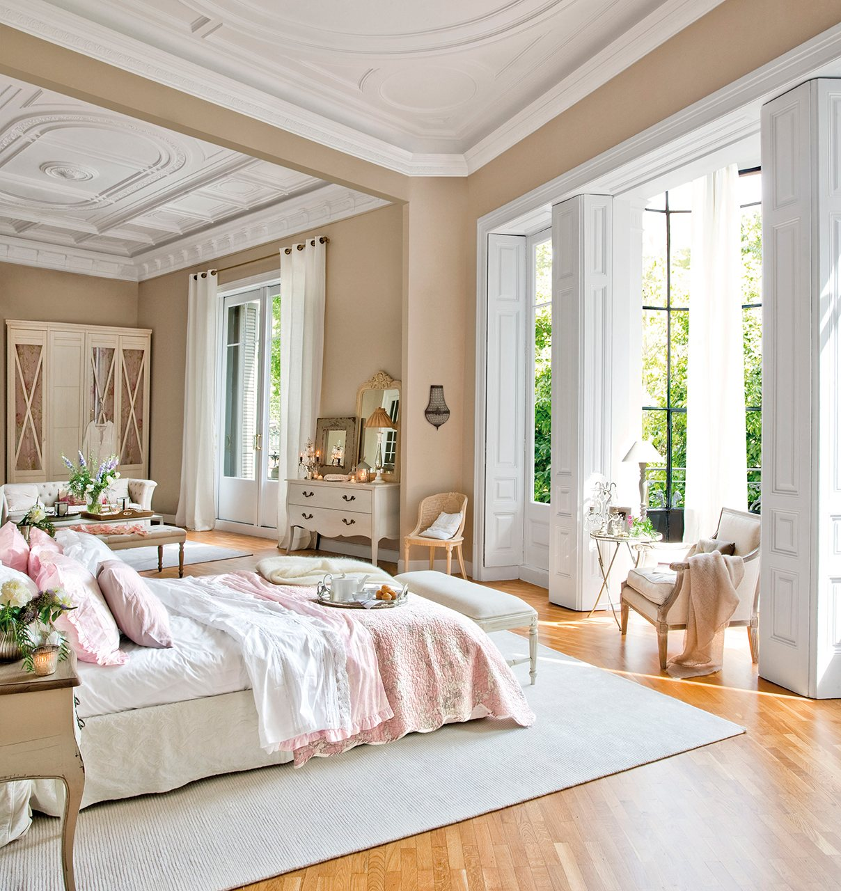 Los 10 dormitorios m s bonitos del a o - Dormitorio beige ...