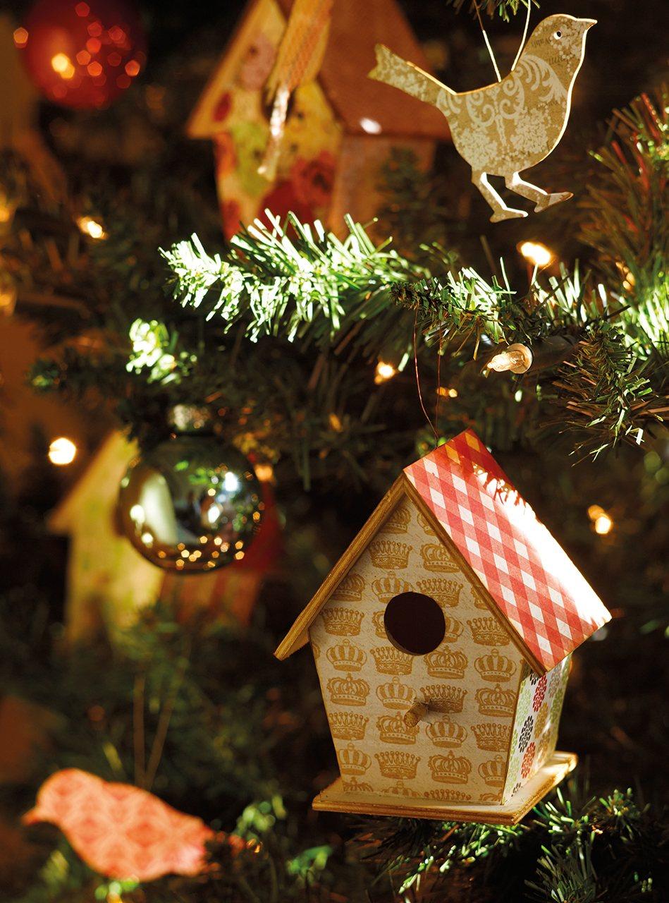 La navidad en una antigua casa de labranza reformada - La casa de la navidad ...