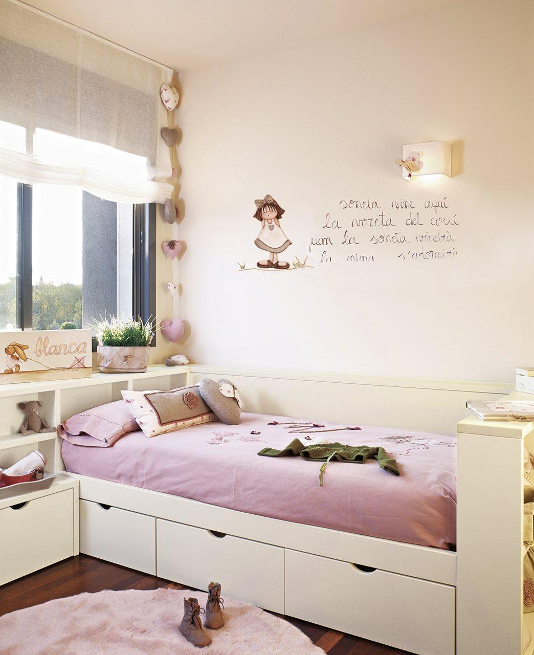 Espacio por arte de magia en el cuarto de los ni os - Dormitorio de nina ...