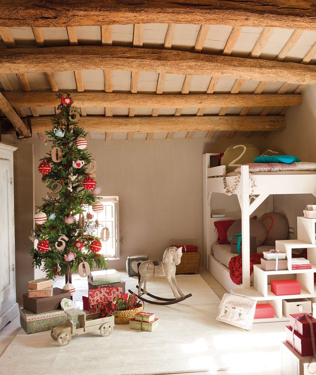 Navidad en fucsia y verde