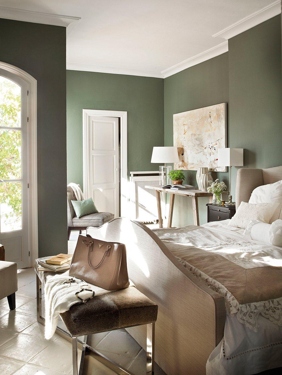 Las mejores ideas para pintar la casa - Casas color verde ...
