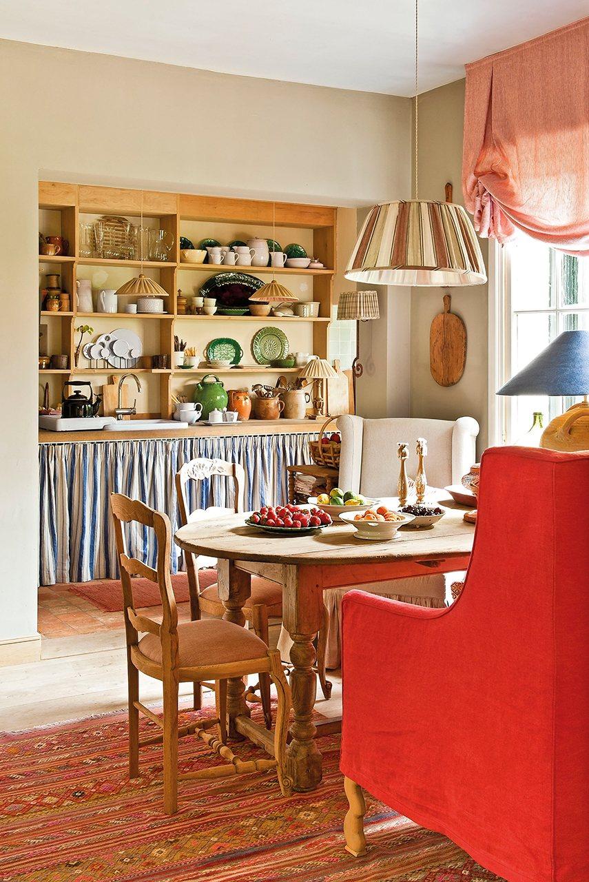 Una casa llena de sorpresas - Sofas para cocinas ...