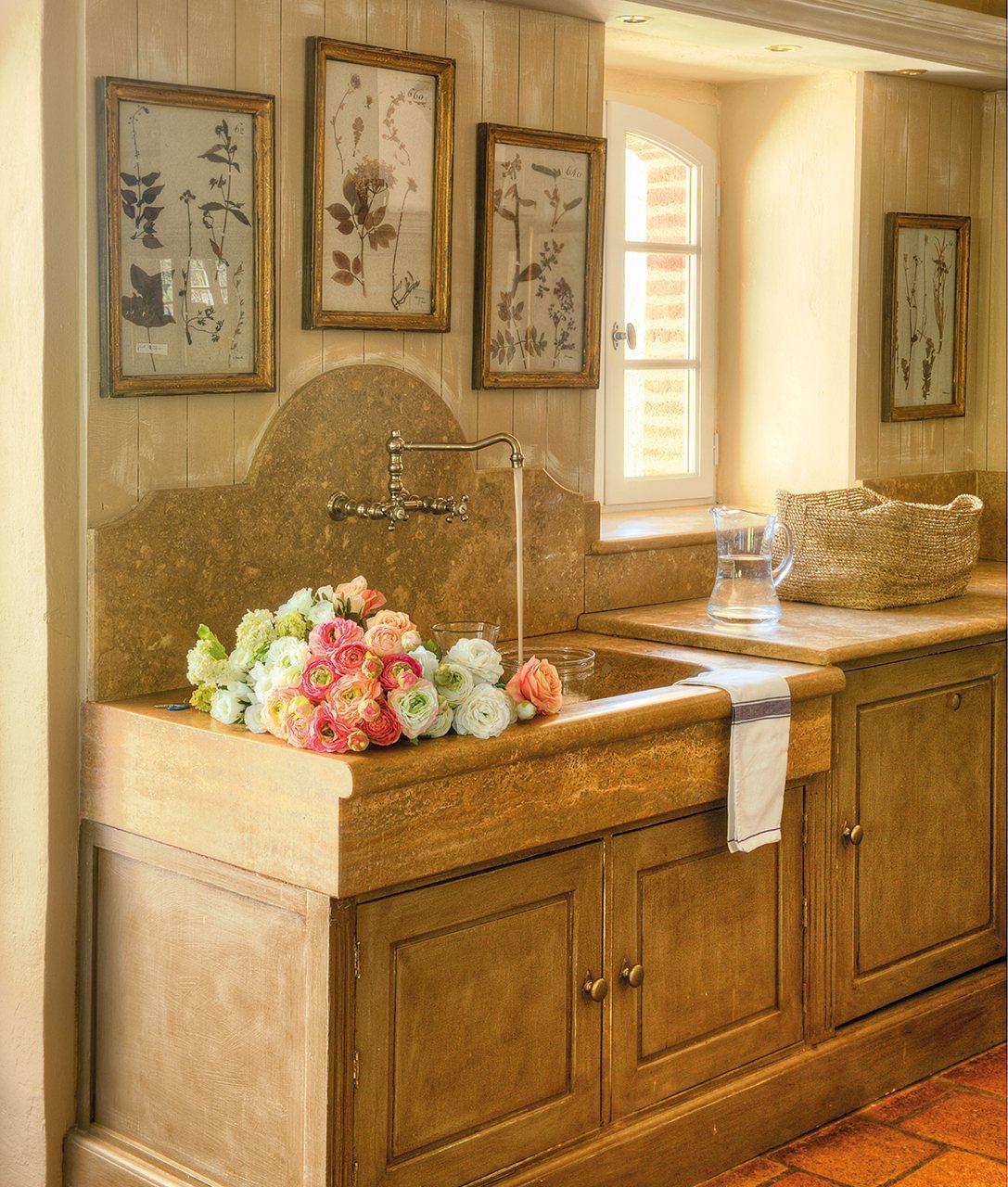 C mo renovar un mueble - Fregadero de marmol ...