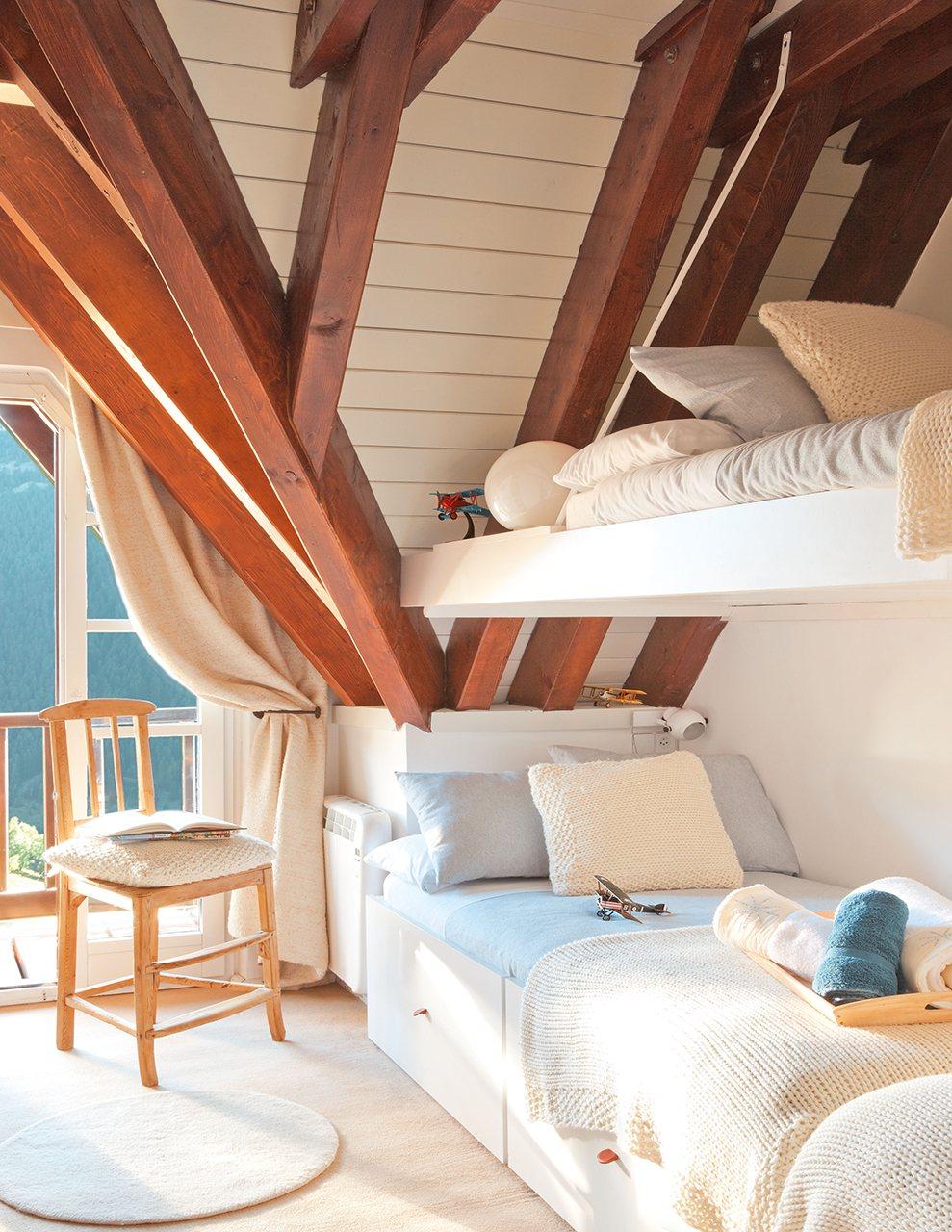 Ideas para aprovechar al m ximo el espacio de un piso peque o for Como aprovechar espacios pequenos habitacion