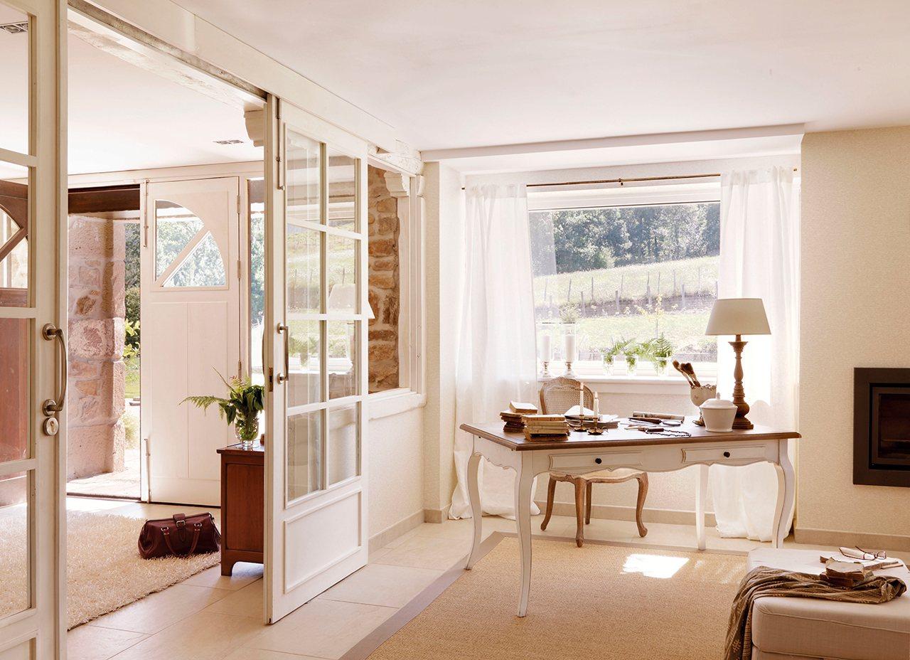 40 ideas para pisos peque os - Decoracion de recibidores pequenos ...