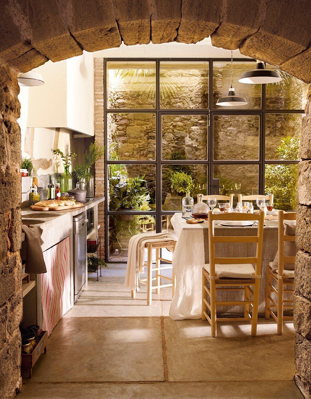 De la huerta a la mesa cocinar con conservas for Cocina rustica que adorna la idea