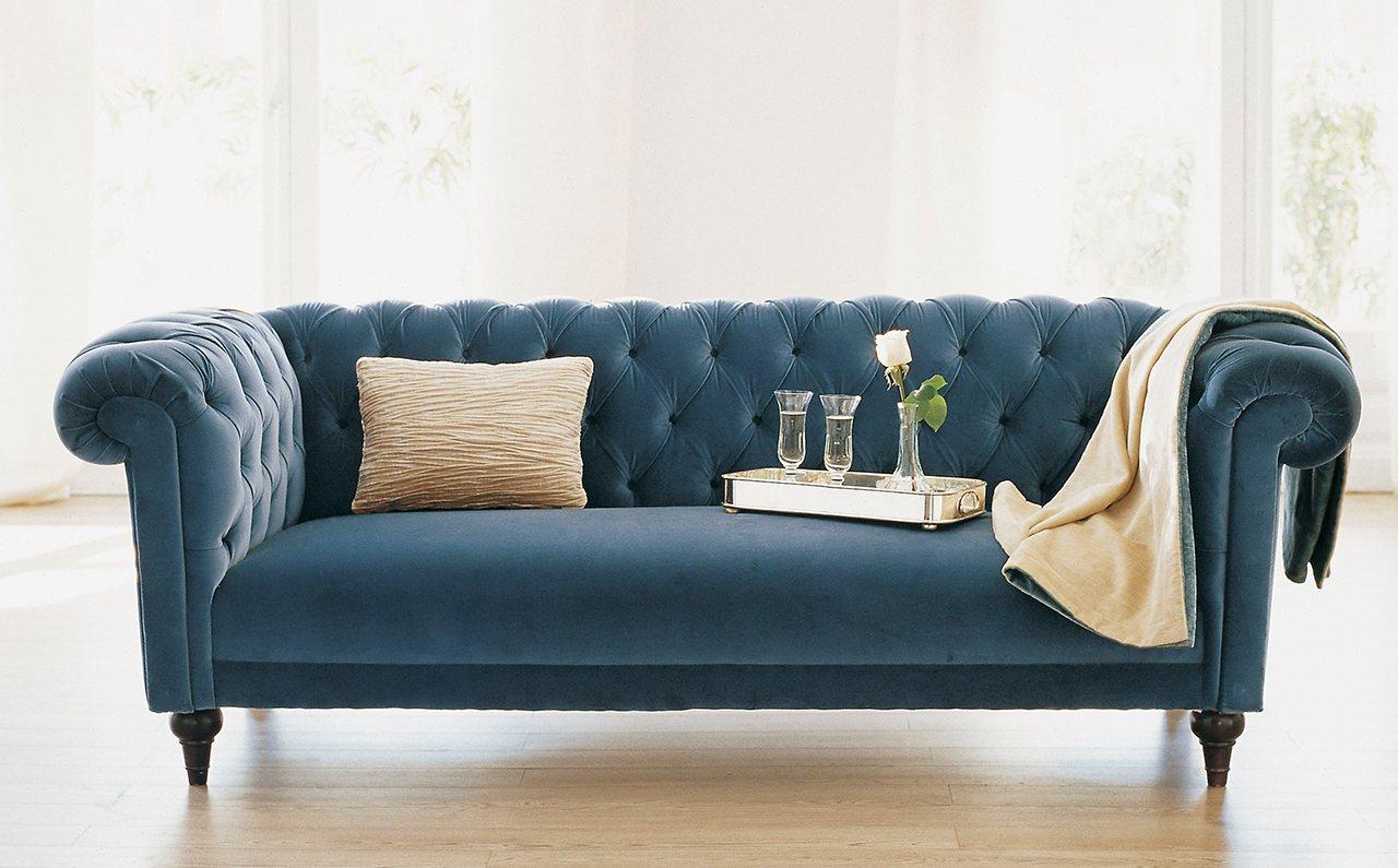 Las 10 piezas que nunca pasan de moda - Sofas clasicos de tela ...