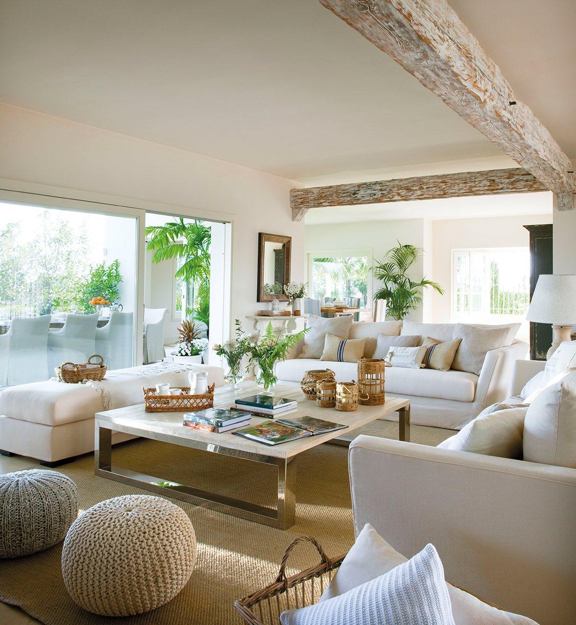 12 buenas ideas para decorar el sal n con estilo - Decorar salon en l ...