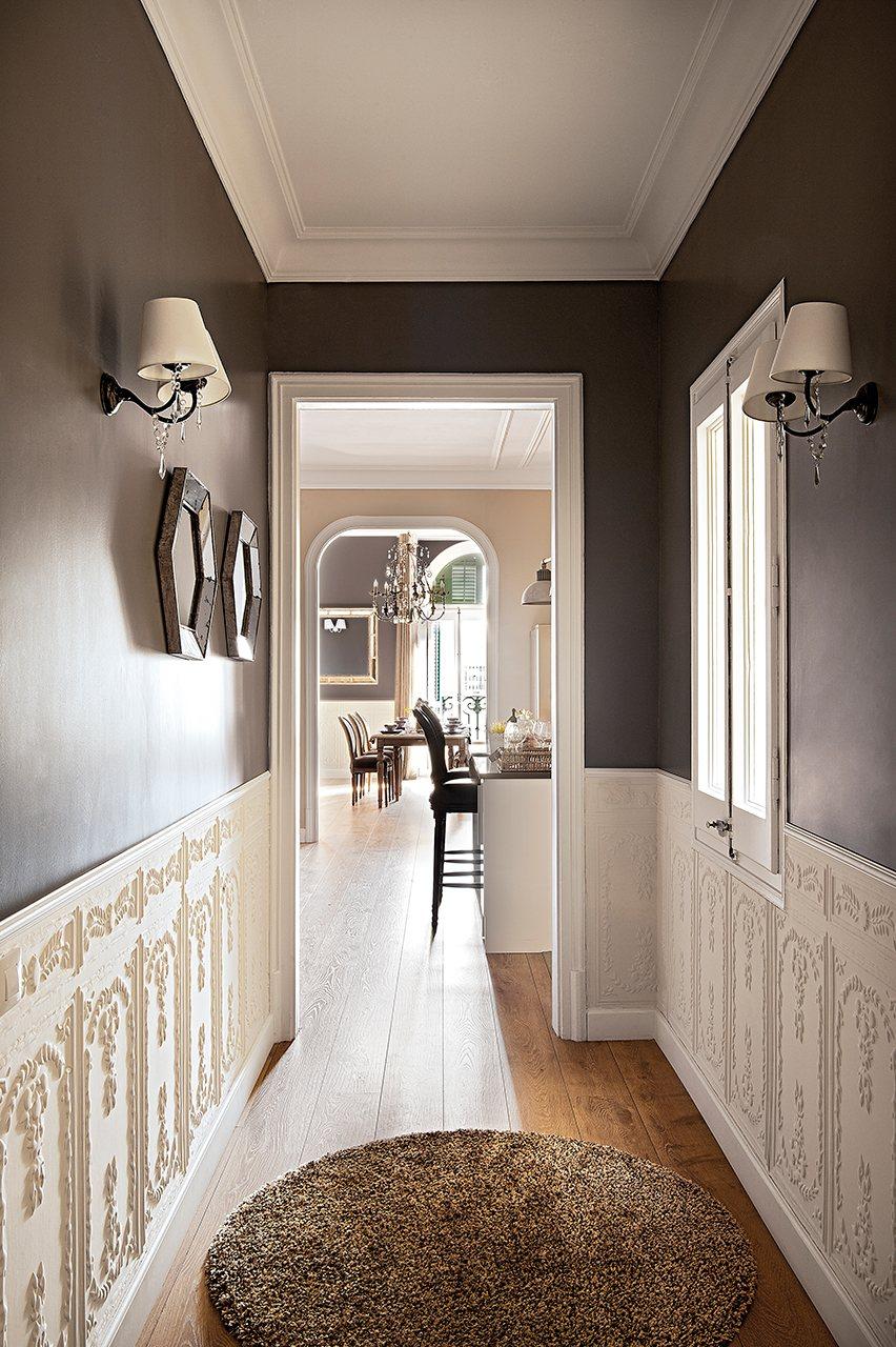 Reforma de un piso cl sico con toques modernos - Reformas pisos pequenos ...