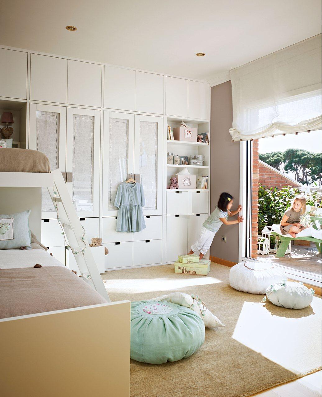 10 habitaciones de ni os con orden - Ideas para decorar habitaciones infantiles ...