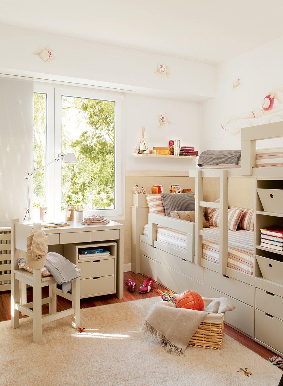 10 habitaciones de ni os con orden - Habitaciones ninos el mueble ...