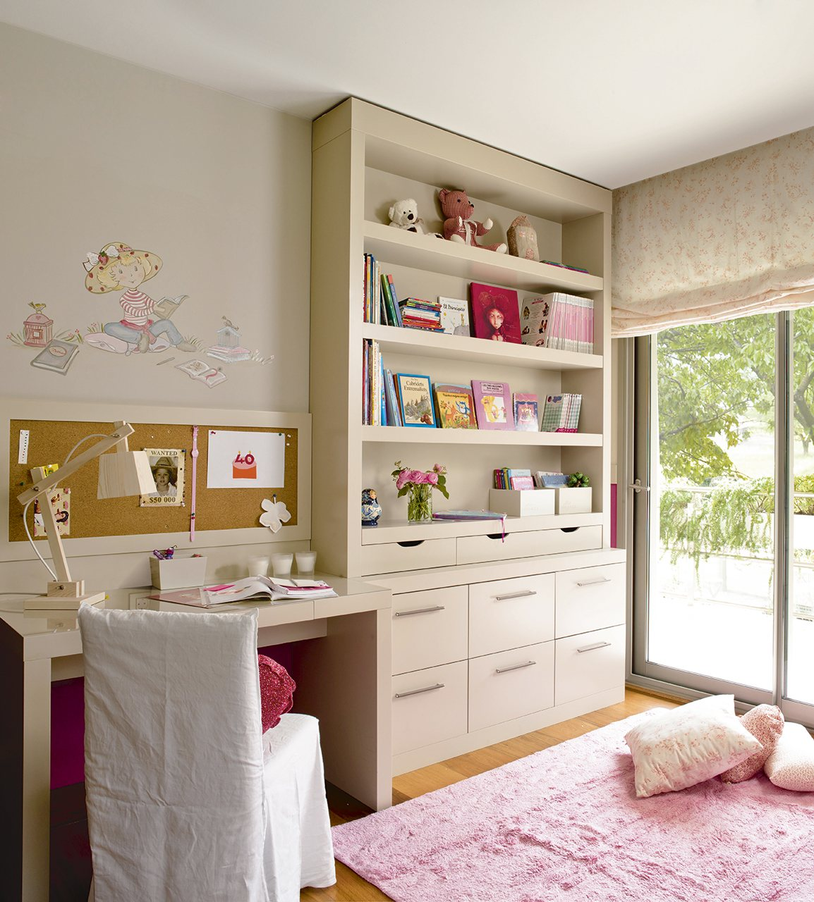 10 habitaciones de ni os con orden for Decoracion habitacion nina de 8 anos
