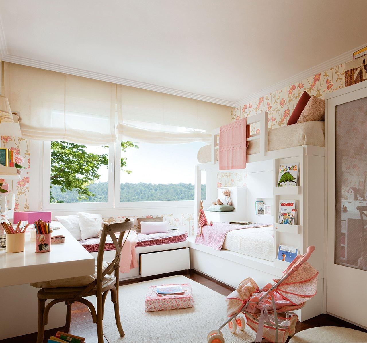 10 habitaciones de ni os con orden - Como decorar una habitacion rustica ...