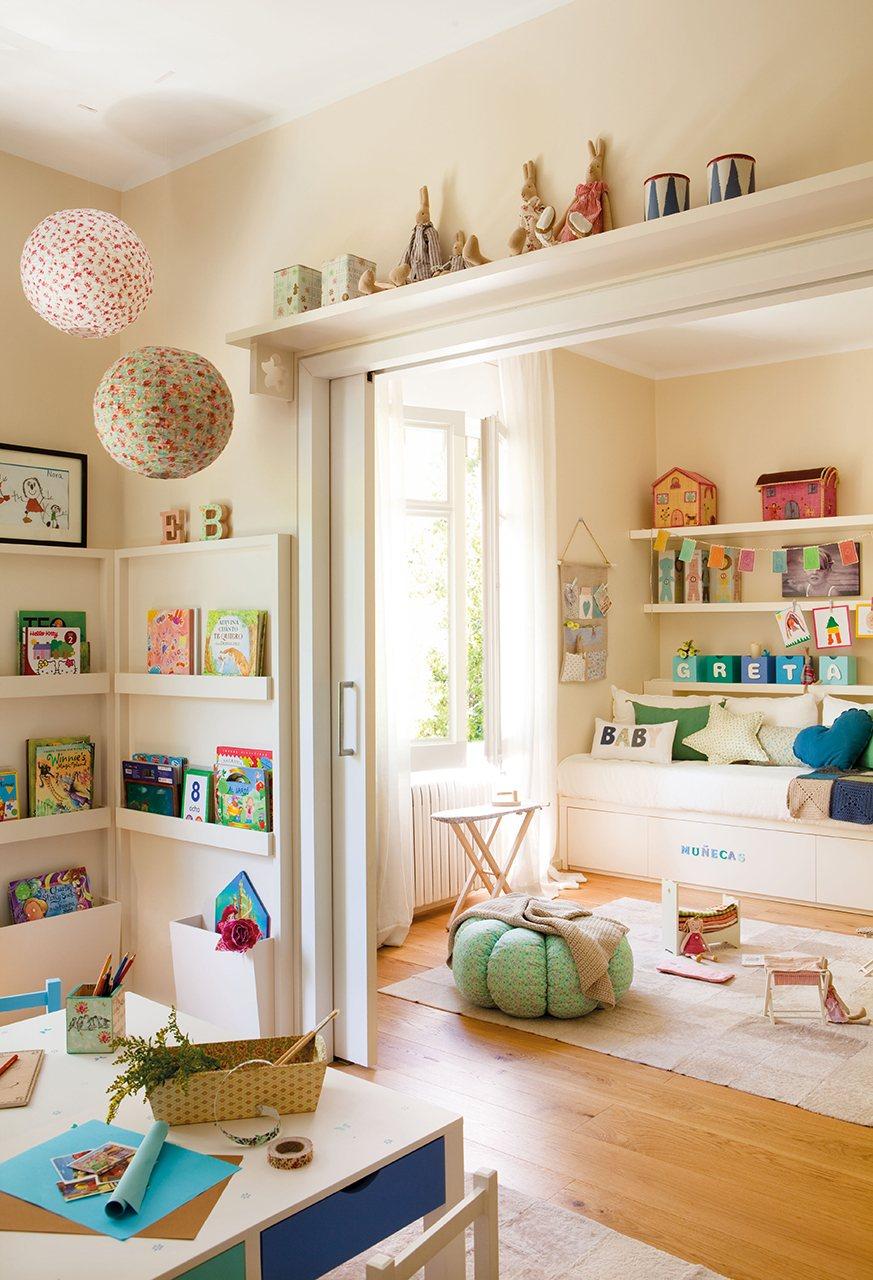 10 habitaciones de ni os con orden - Ideas habitacion infantil ...