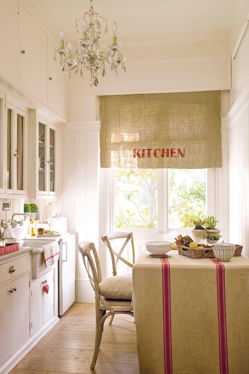 Gu a r pida para acertar con las cortinas for Telas de cocina