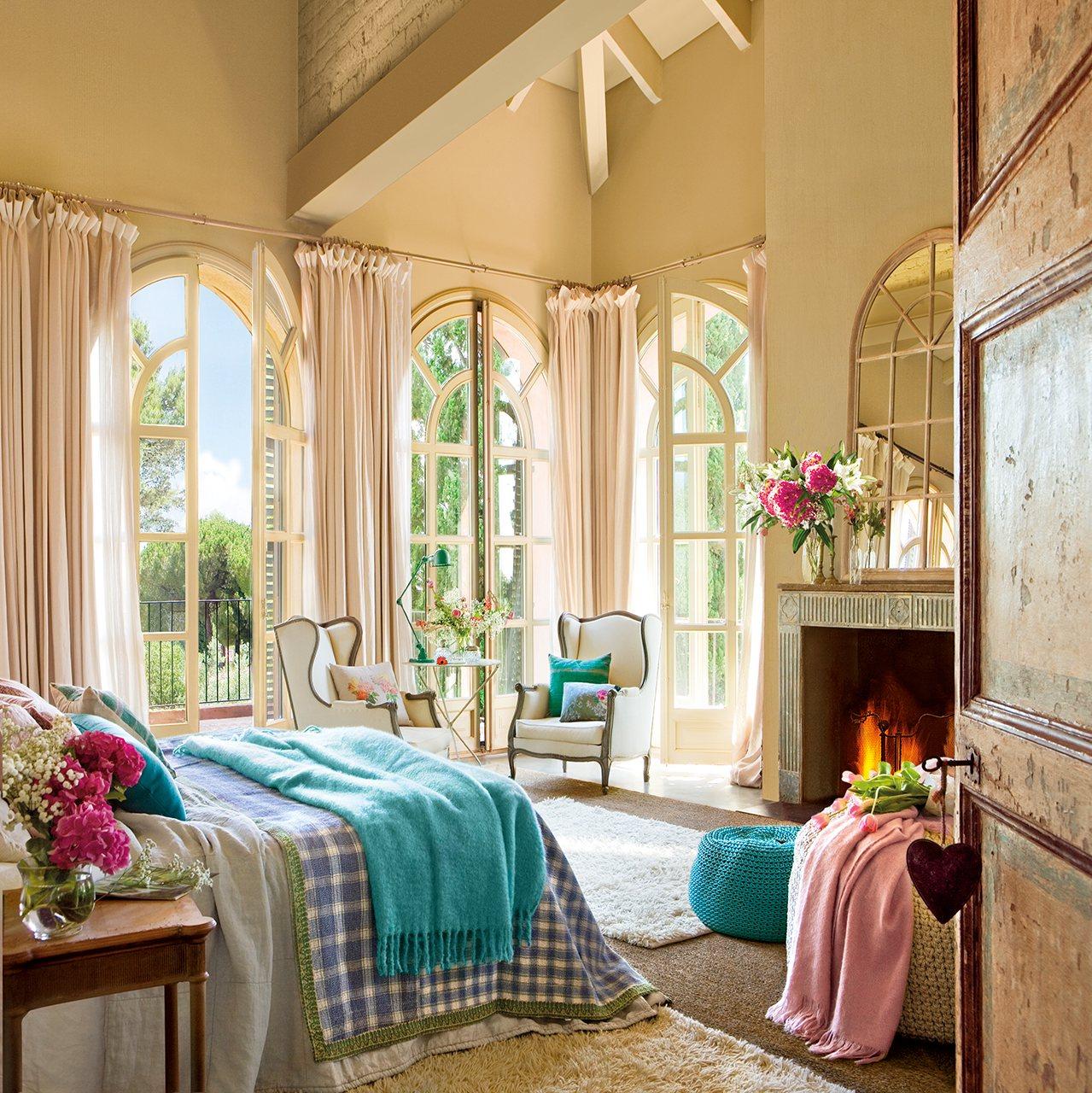 Dormitorios con estilo vintage for Dormitorio retro