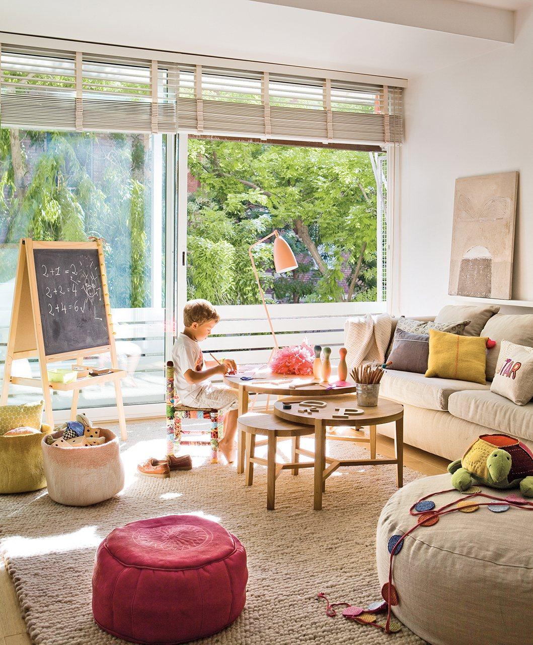 Qué muebles necesitan los niños